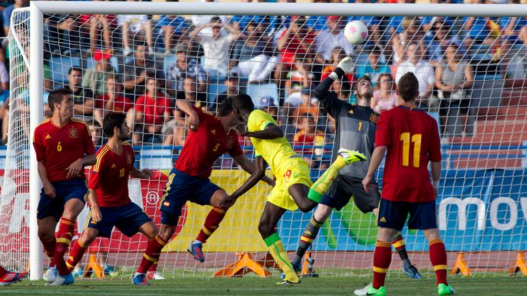 Mal partido de la selección olímpica ante Senegal