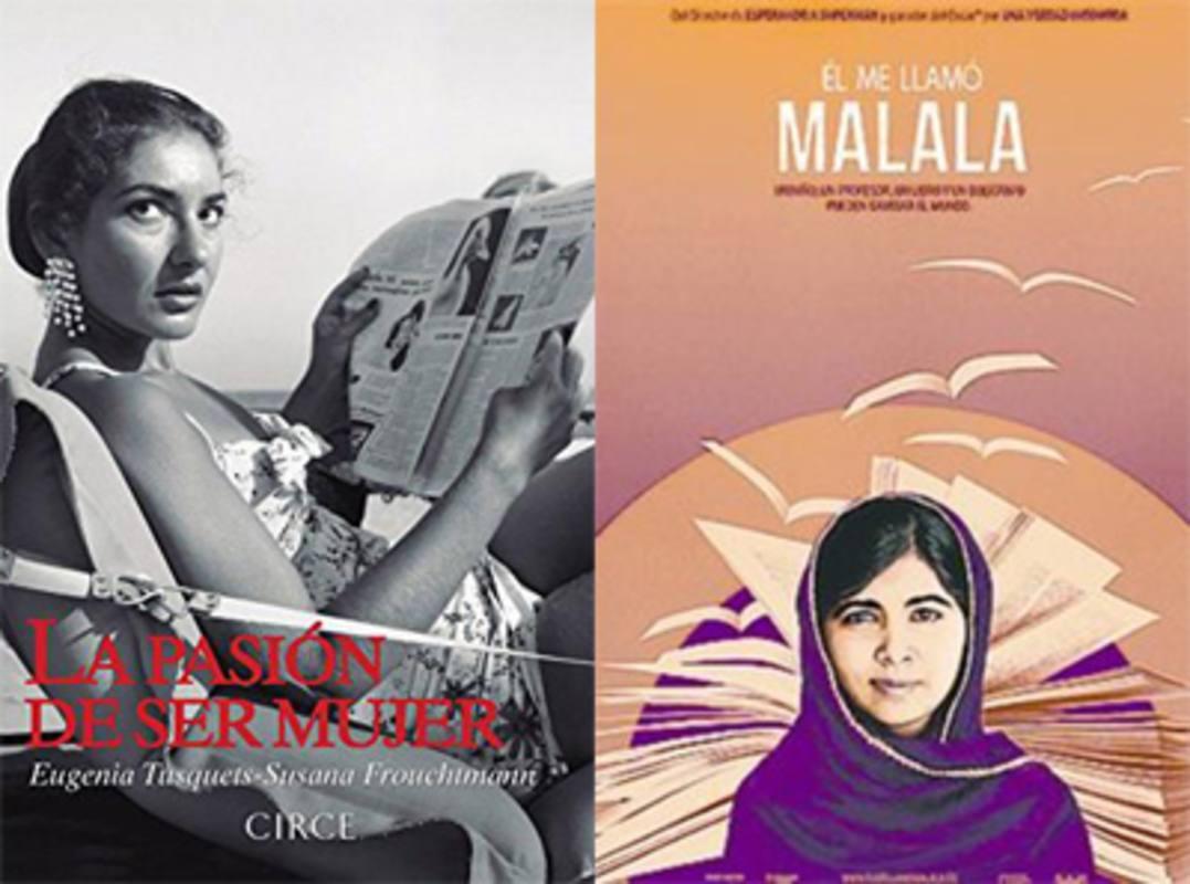 Malala y otras mujeres valientes que abrieron camino en sus sociedades.