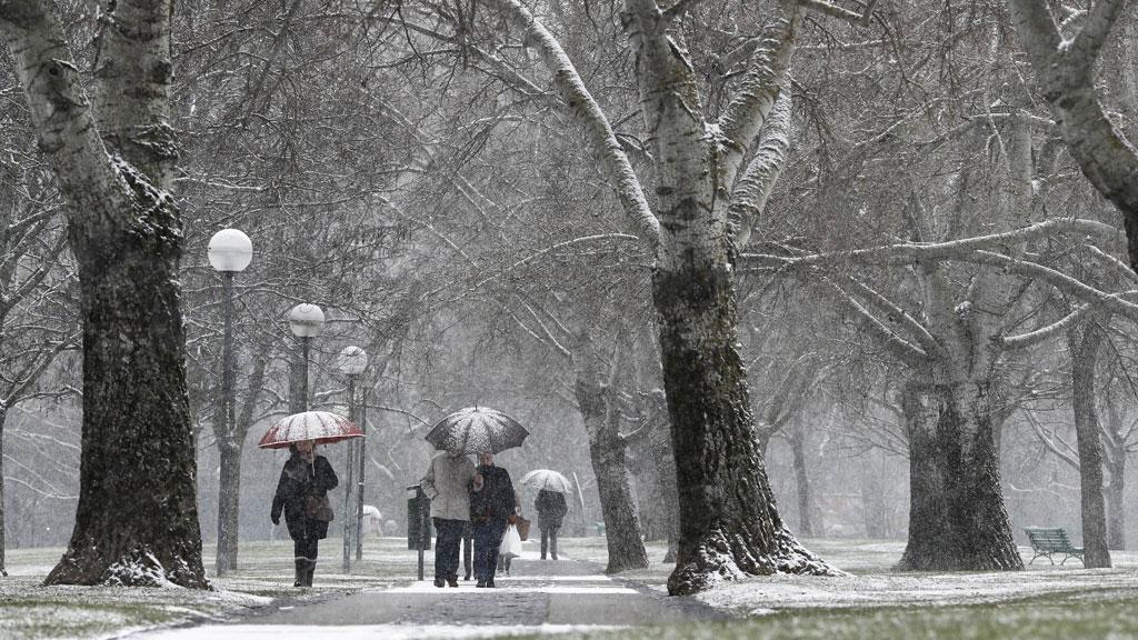 Mañana, lluvia en la mitad norte peninsular y ascenso térmico en toda España