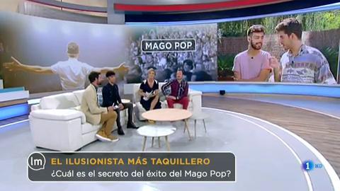 El Mago Pop, el ilusionista más taquillero de Europa