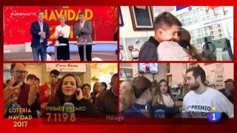La mañana - Sevilla y Badajoz reparten dos quintos premios