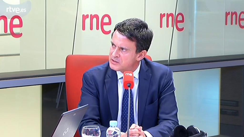 """Manuel Valls: """"Barcelona no es cosa de partidos"""""""