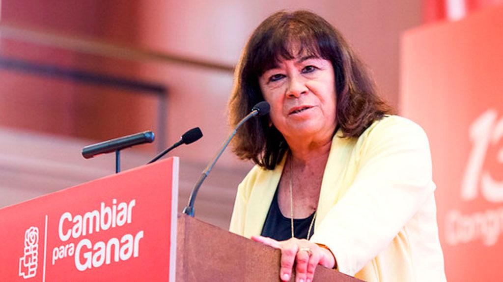 Narbona apoya al Gobierno en la polémica del 'relator'