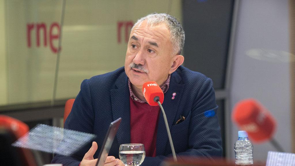 Álvarez (UGT): No entiendo el enfado de los empresarios