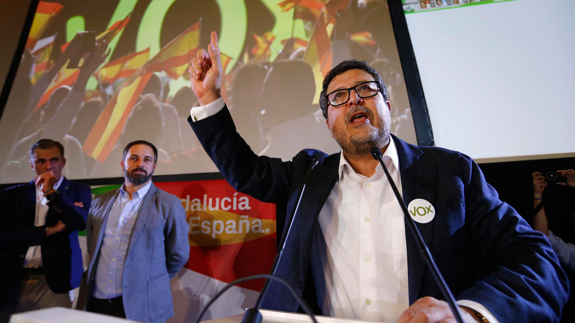 VOX no bloqueará una coalición de derechas en Andalucía