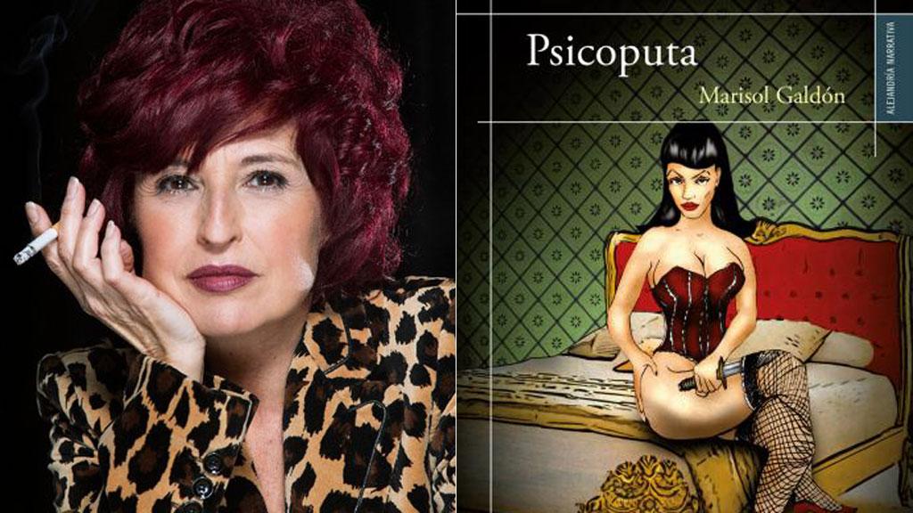Marisol Galdón nos presenta su novela 'Psicoputa'