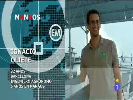 Españoles en el mundo - Manaos - Ignacio