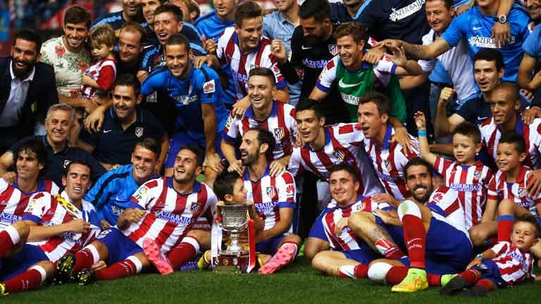 Mandzukic y un potente Atlético conquistan la Supercopa