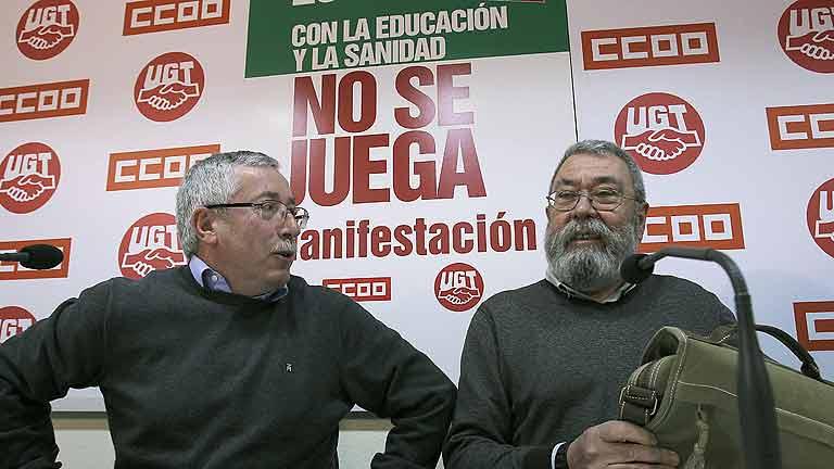 """Los sindicatos se movilizan contra el """"estado de emergencia creado por el Gobierno"""""""
