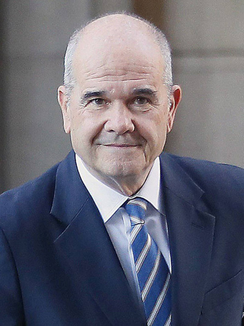 Manuel Chaves, expresidente de la Junta de Andalucía