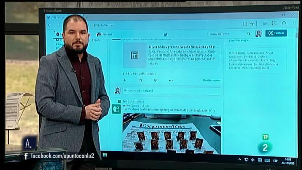 A punto con La 2 - Redes sociales con Manuel Moreno: crear contenidos en Twitter