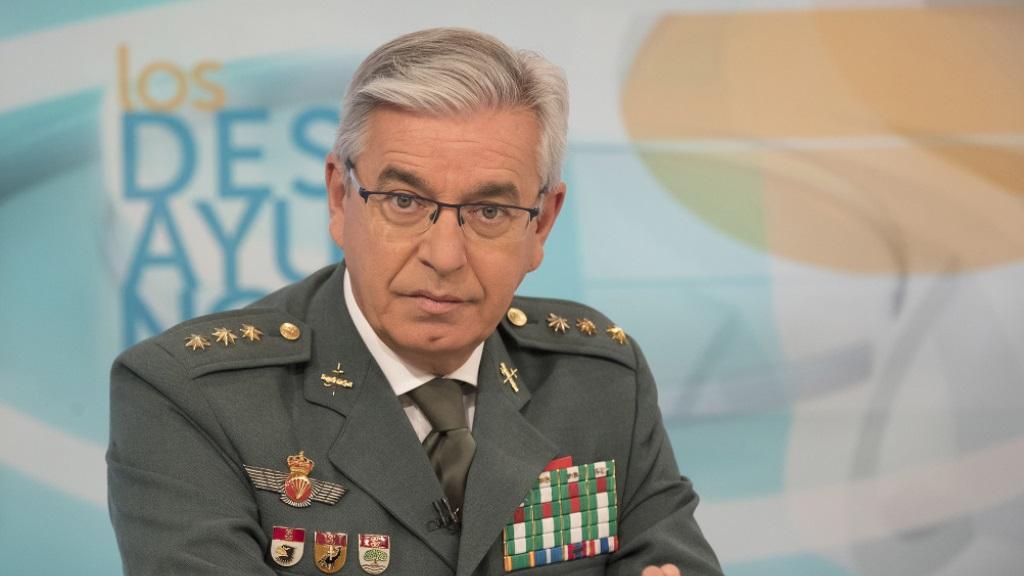 Los desayunos de TVE - Manuel Sánchez Corbí, Coronel jefe de la UCO