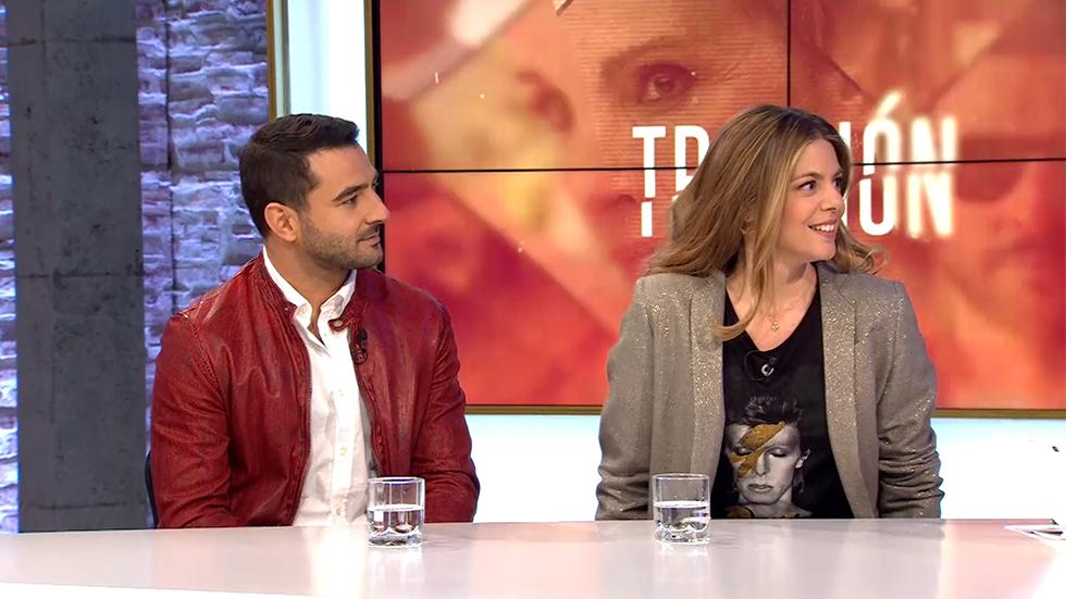 Manuela Velasco y Antonio Velázquez nos visitan para contarnos todos los secretos de la nueva ficción de La 1: 'Traicion'