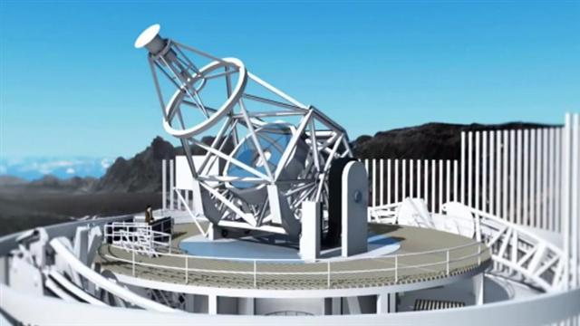 La maqueta del mayor Telescopio Solar de Europa ya está en Canarias