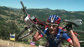 Carrera de montaña - Maratón Alpina Galarleiz 2016