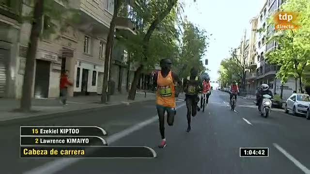 Atletismo - Maratón de Madrid. Parte 2