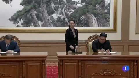 En el marco del encuentro entre las dos Coreas, Kim se compromete a desmantelar la central de Yongbyon