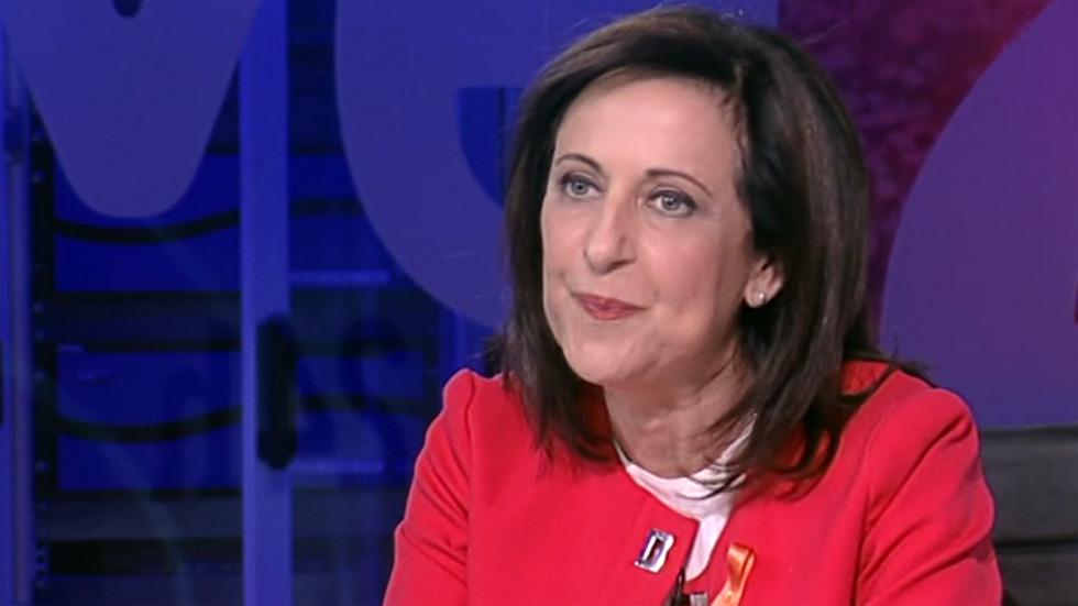 """Margarita Robles: """"Cuando un Gobierno tiene a un ministro del Interior que es capaz de no tutelar los derechos y libertades, eso trasciende la campaña electoral"""""""