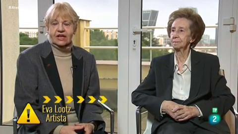 """Atención obras - Margarita Salas y  Eva Lootz en proyecto """"Binomio"""""""