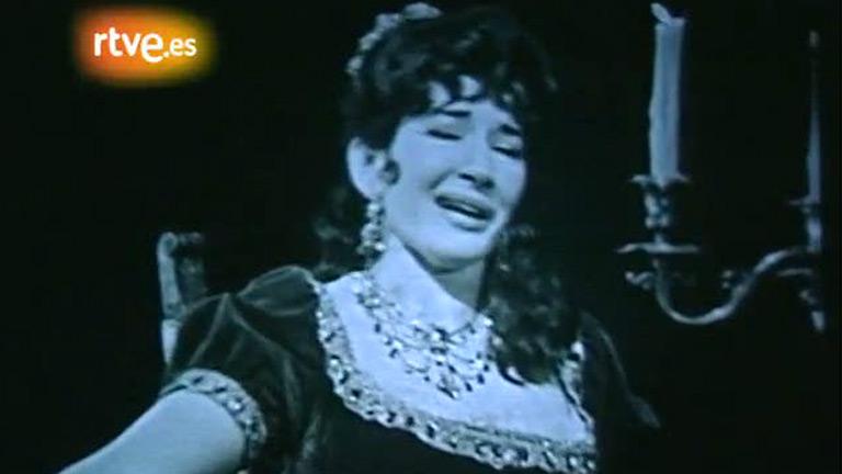 María Callas canta 'Tosca'