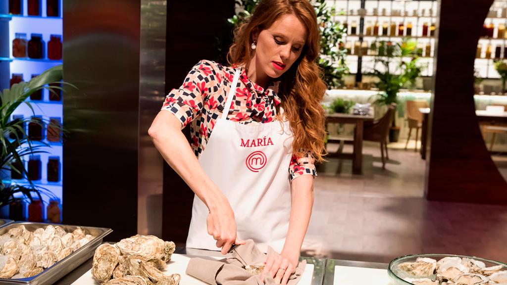 María Castro, cocina entre sonrisas