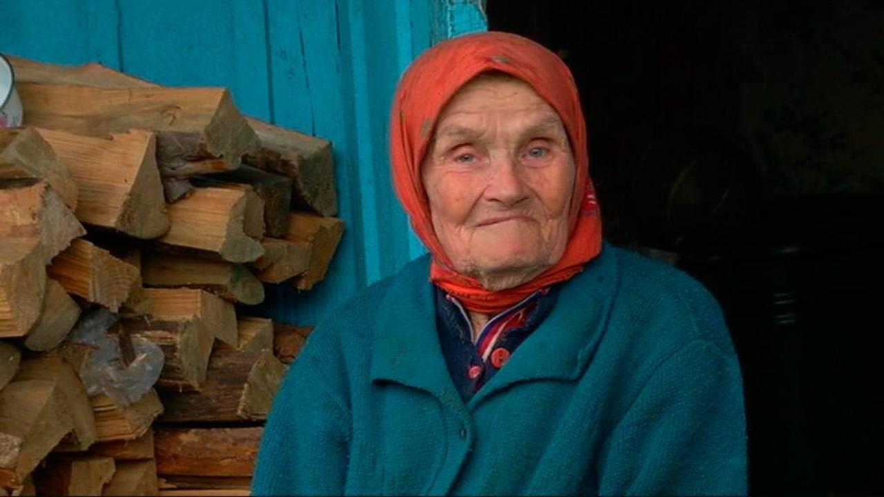 María Petrovna, una de las supervivientes que regresó tras la tragedia