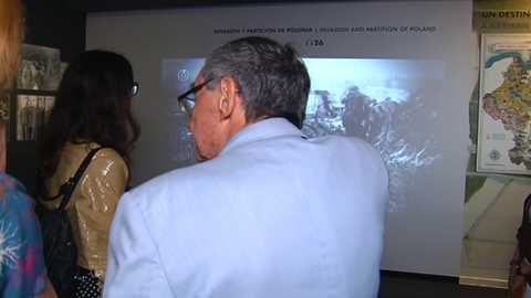 Shalom - Marian Turski en la Exposición de Auschwitz
