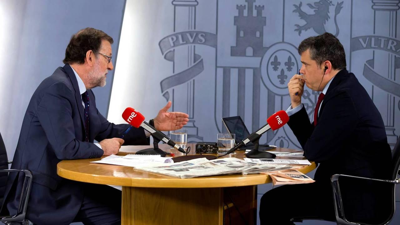 Mariano Rajoy, entrevistado en 'Las mañanas de RNE' .