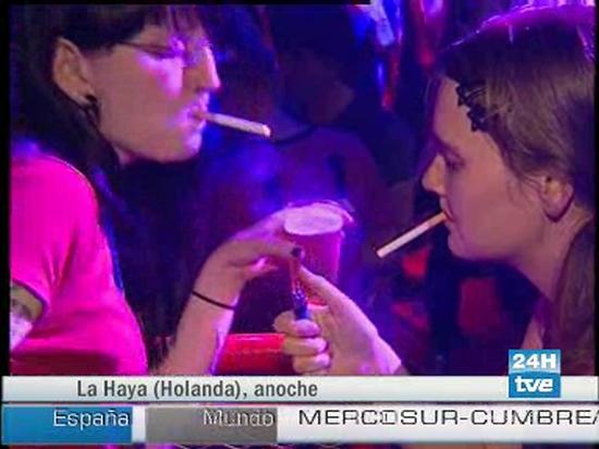 Marihuana sí, tabaco no