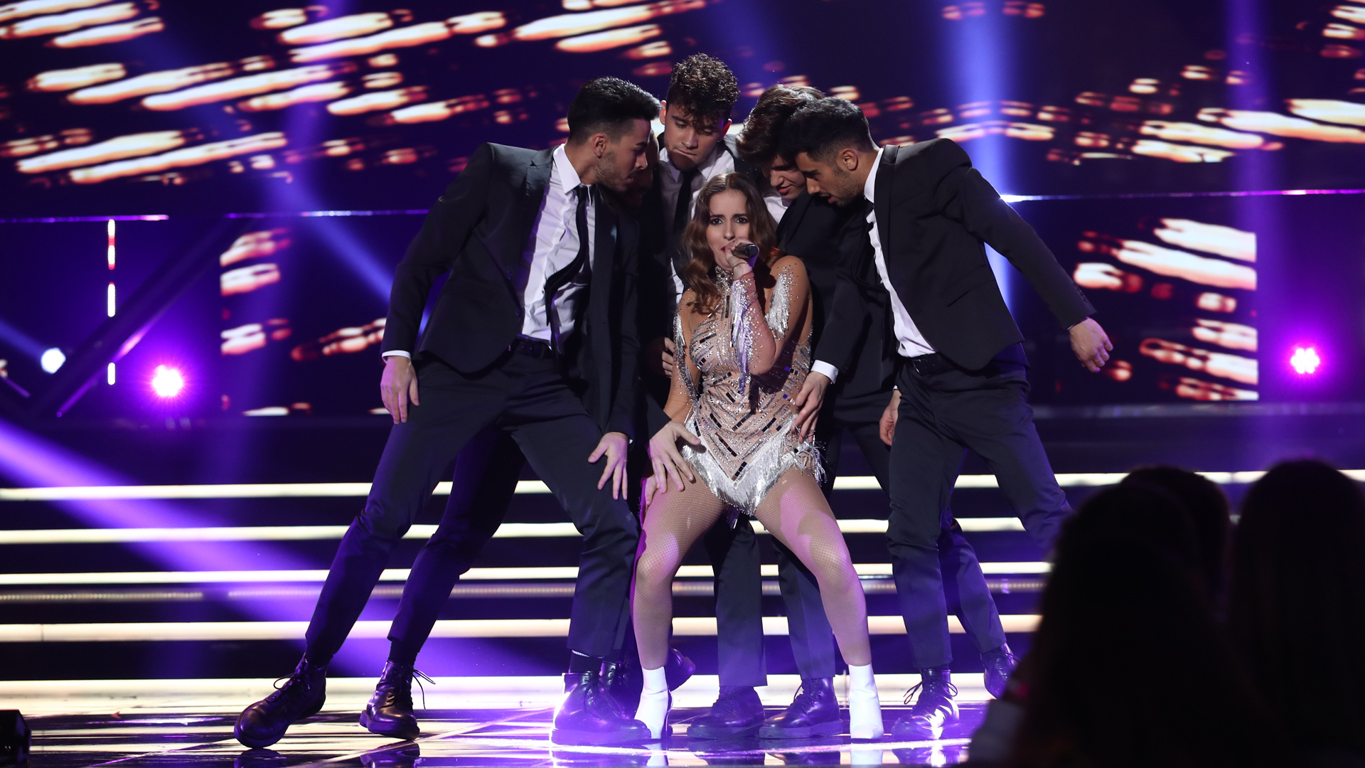 "Eurovisión 2019 - Marilia canta ""Todo bien"" en la Gala OT Eurovisión"