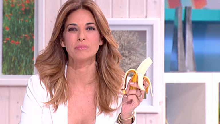 La mañana - Mariló Montero se come un plátano en directo para apoyar la campaña de Neymar #somostodosmonos