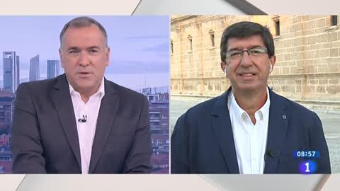 """Marín (Cs): """"Andalucía tendrá que elegir entre más de lo mismo que es el PSOE, o el PP, que está lleno de derrotas"""""""