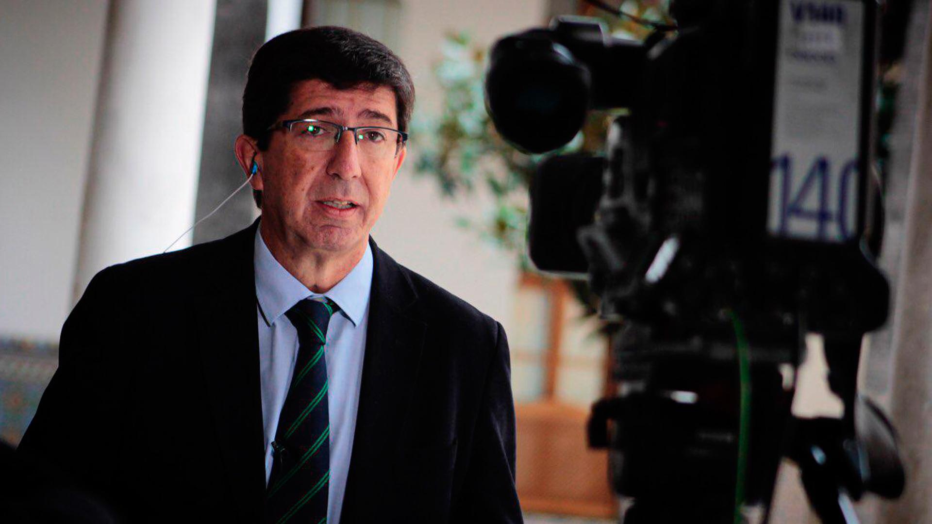 Marín plantea una reforma fiscal en Andalucía que incluya el impuesto a las hipotecas