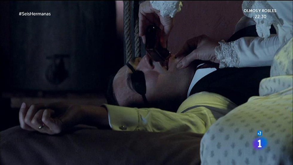 Seis Hermanas - Marina envenena a Luis y se escapa