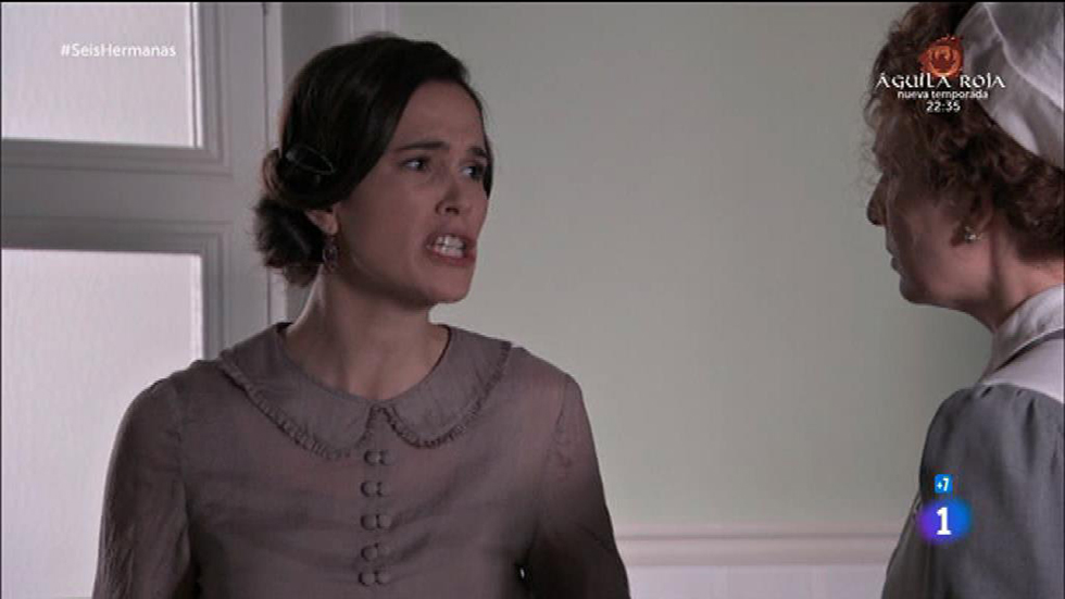Seis Hermanas - Marina se enfrenta e insulta a Adela