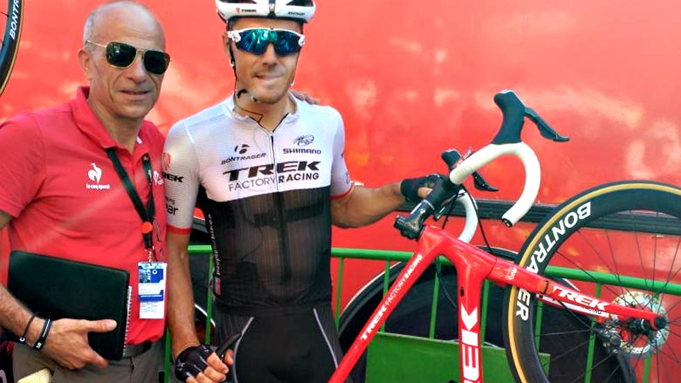 Markel Irizar analiza su experiencia con los frenos de disco en la 6ª etapa de la Vuelta