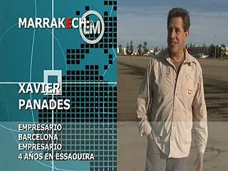 Españoles en el mundo - Marrakech - Xavier