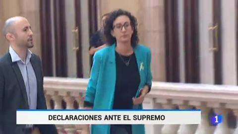 Marta Rovira (ERC) y Marta Pascal (PDeCAT) declaran este lunes en el TS