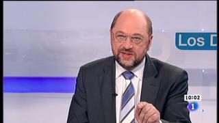 Los desayunos de TVE - Martín Schulz, presidente del Parlamento europeo