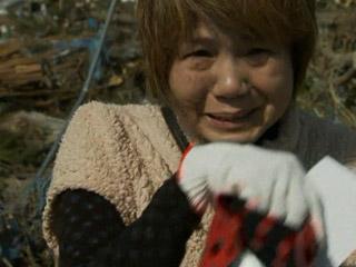 Reencuentro de víctimas tras el terrremoto en Japón