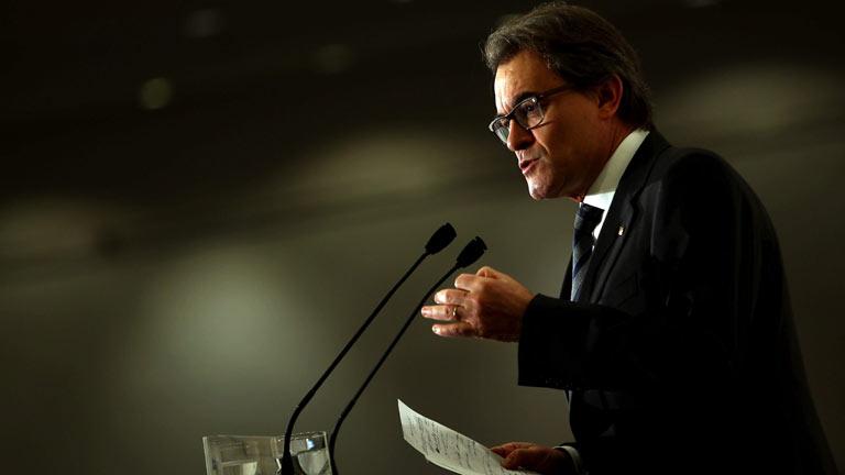 """Artur Mas anuncia que pedirá a Rajoy el referéndum """"definitivo"""" tras el 9N"""
