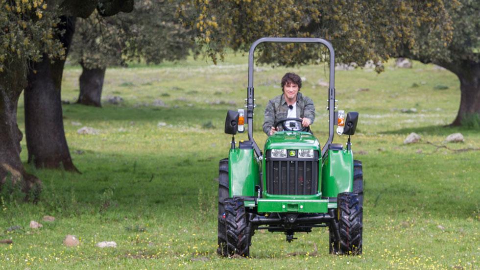 MasterChef 5 - Los jueces llegan en tractor