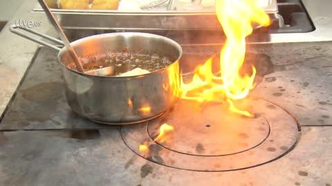 MasterChef 6 - Oxana quema las cocinas de Pepe