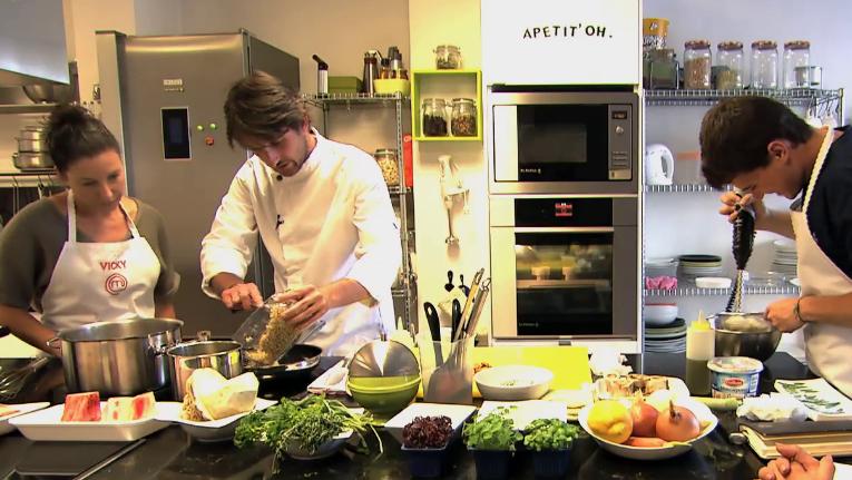 Formaci n masterchef clase de alta cocina italiana - Escuela de cocina masterchef ...