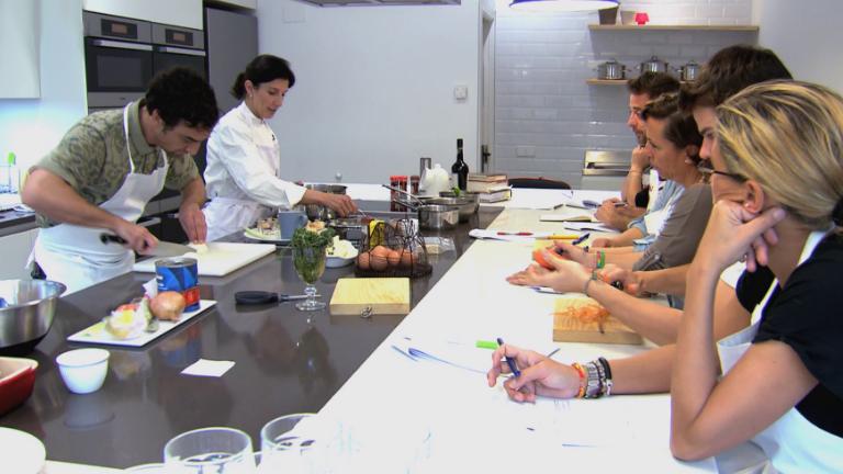 Formaci n masterchef clase de salsas y derivados - Escuela de cocina masterchef ...