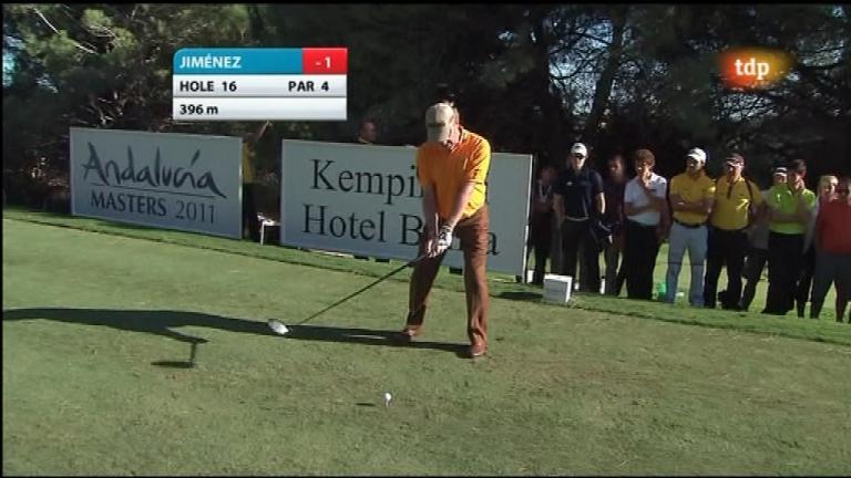 Golf - Masters Andalucía, 2ª jornada (2)  - 28/10/11