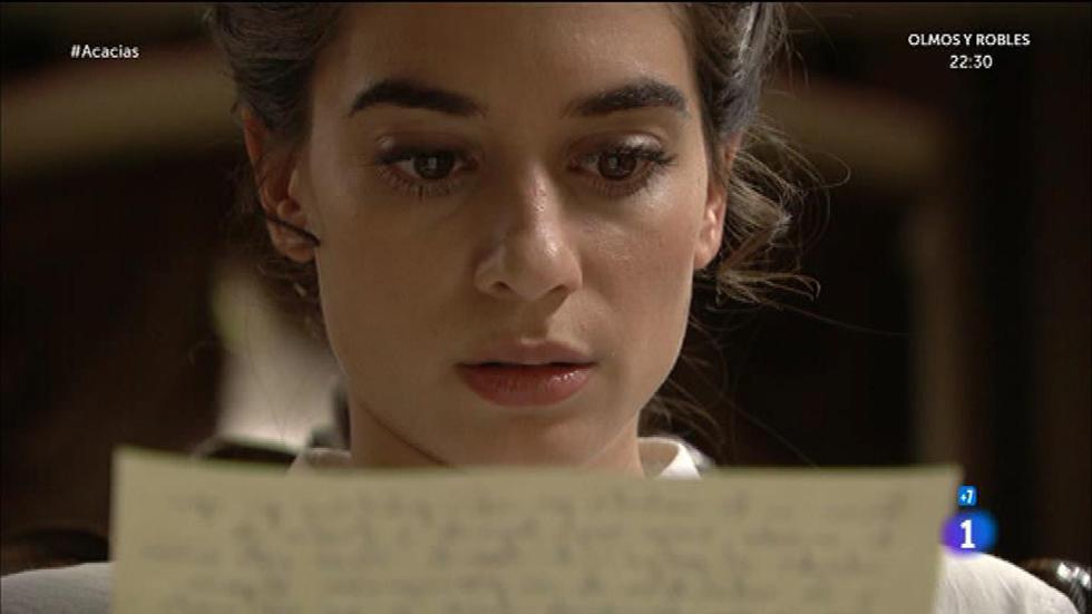 Acacias 38 - Mauro manda una carta a Teresa advirtiéndole sobre Cayetana