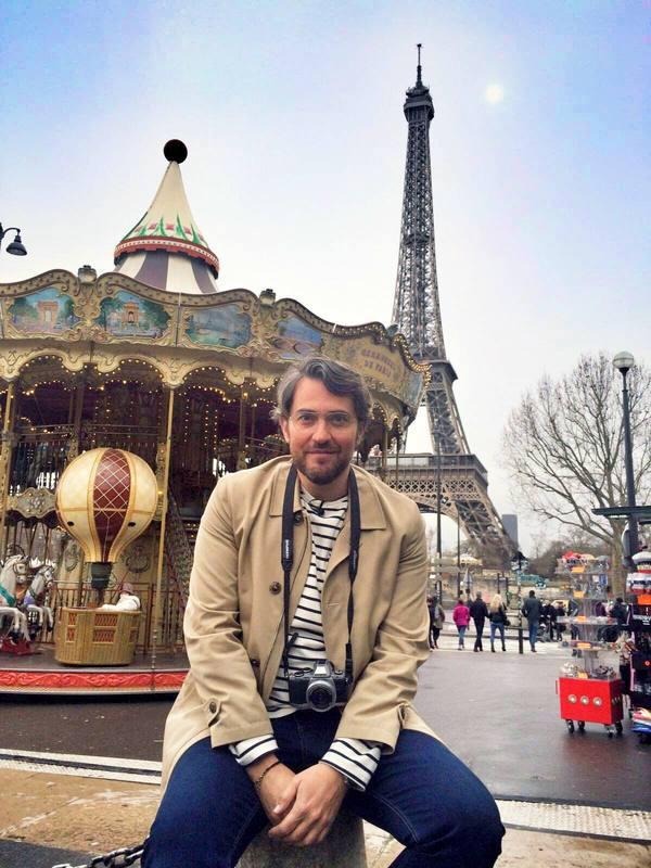 Màxim disfrutará de la torre Eiffel como Audrey Hepburn en `Una cara con ángel¿