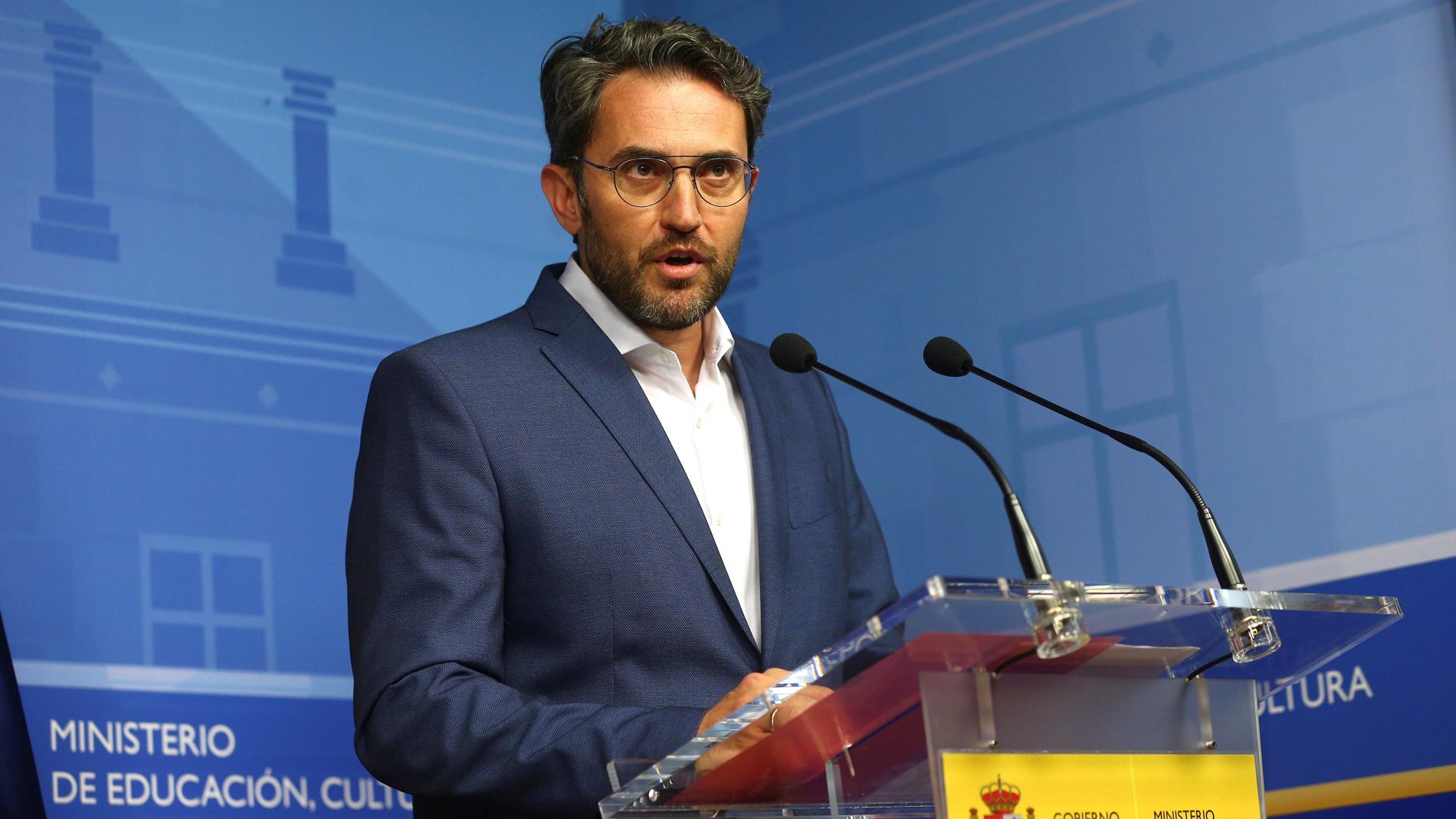"""Màxim Huerta dimite: """"Me voy para proteger el proyecto de Pedro Sánchez"""" aunque """"soy inocente"""""""