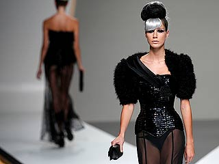 Maya Hansen en Cibeles Madrid Fashion Week